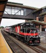 CDOT 6699 on train 4458